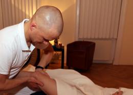 Kniegelenk Physiotherapie